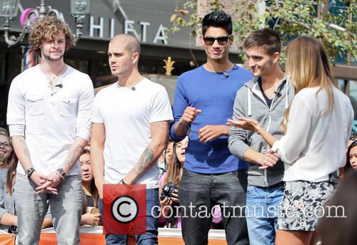 Jay Mcguiness, Max George, Siva Kaneswaran, Tom Parker and Renee Bargh 3