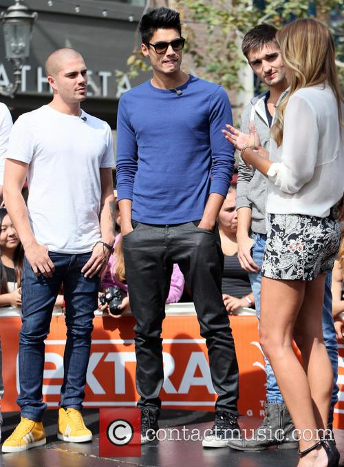 Max George, Siva Kaneswaran, Tom Parker and Renee Bargh 2