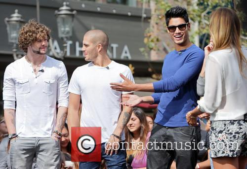 Siva Kaneswaran, Jay Mcguiness, Max George and Renee Bargh 3