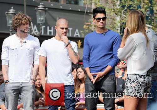 Siva Kaneswaran, Jay Mcguiness, Max George and Renee Bargh 9