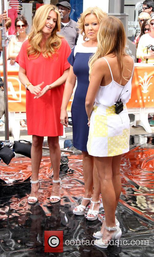 Cat Deeley and Mary Murphy 2