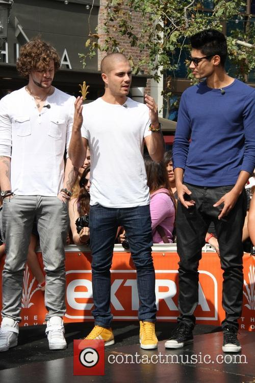 Jay McGuiness, Max George, Siva Kaneswaran and The Wanted 1
