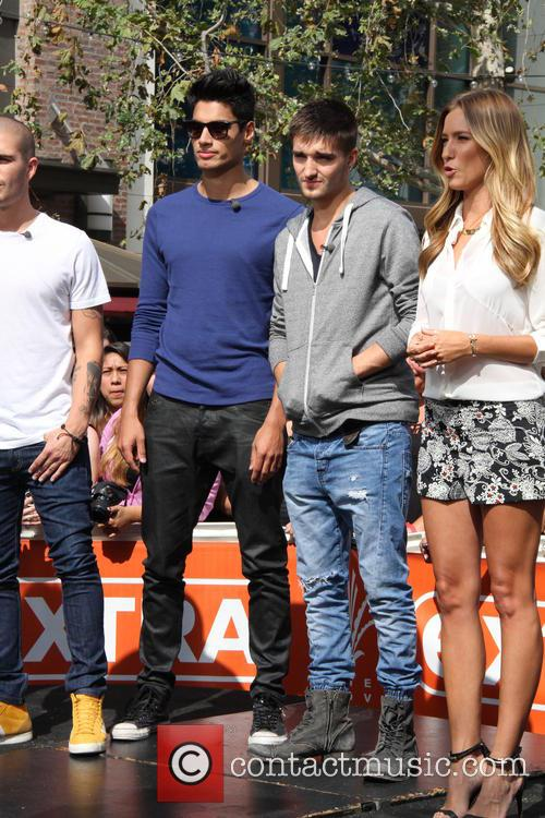 max george siva kaneswaran tom parker the wanted celebrities at 3655800