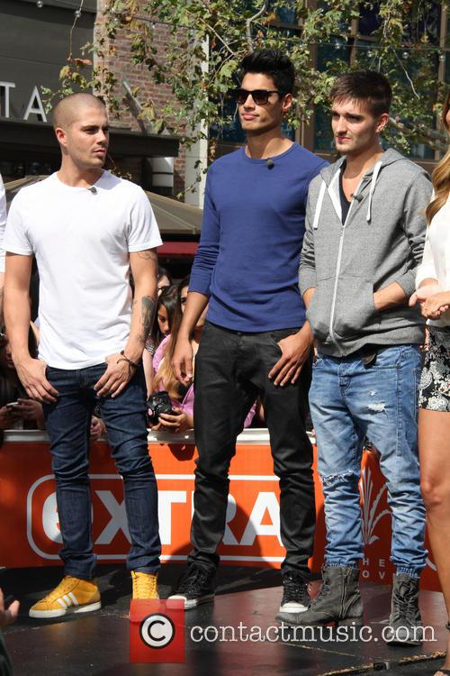 max george siva kaneswaran tom parker the wanted celebrities at 3655805