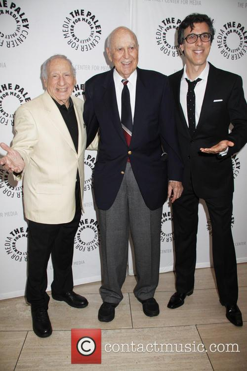 Mel Brooks, Carl Reiner and Robert Trachtenberg 5