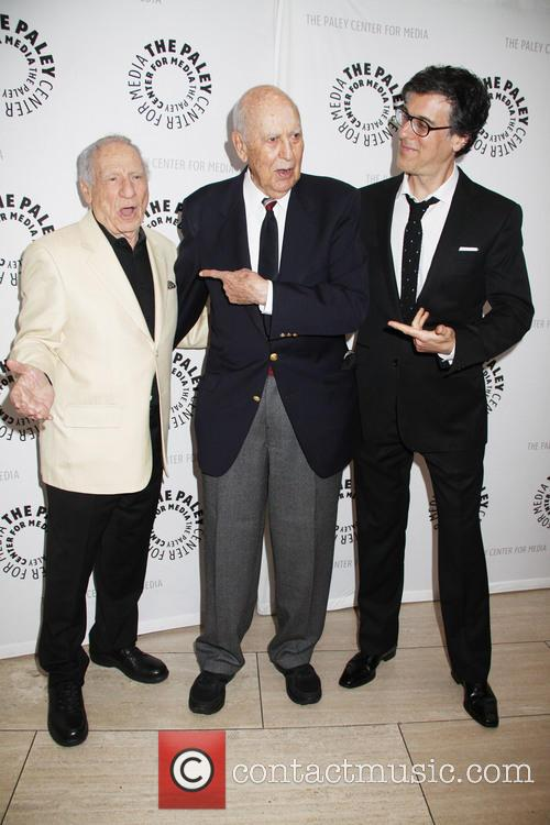 Mel Brooks, Carl Reiner and Robert Trachtenberg 8
