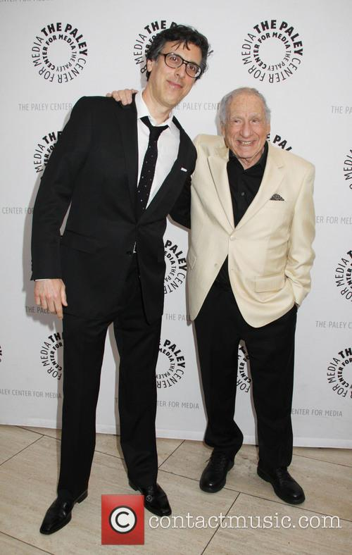 Mel Brooks and Robert Trachtenberg 6