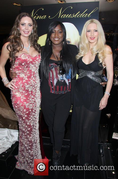 Mica Paris, Nina Naustdal and Emma Noble 2
