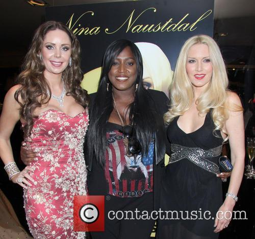 Nina Naustdal, Mica Paris and Emma Noble 3
