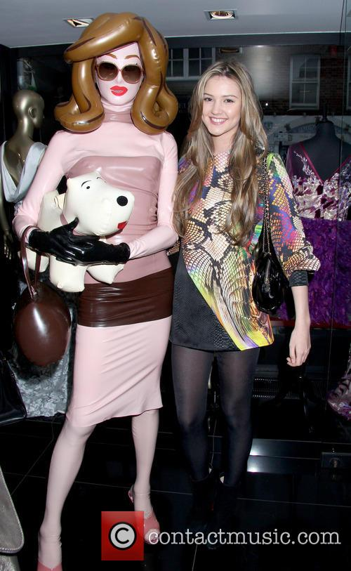 Celebrities attend Nina Naustdal 2nd Anniversary Party
