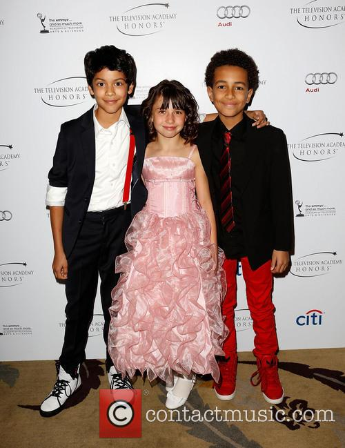 Xolo Mariduena, Savannah Paige Rae and Tyree Brown 4