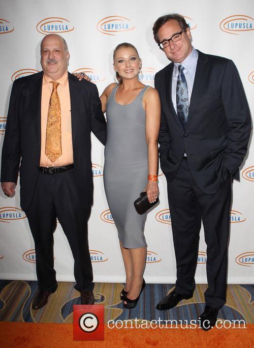 Daniel J. Wallace, Elizabeth Harnois and Bob Saget 2