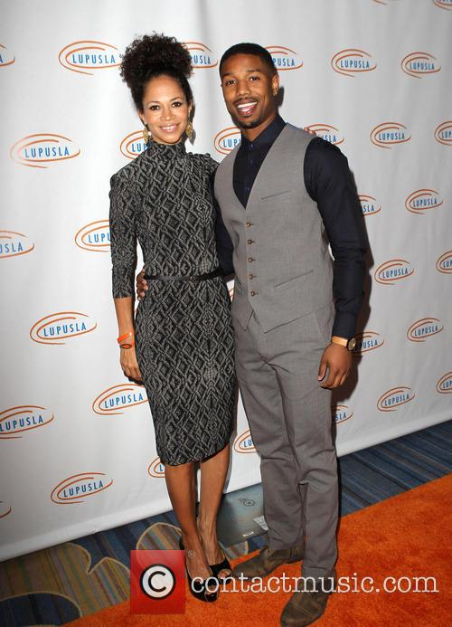Sherri Saum and Michael B. Jordan 2