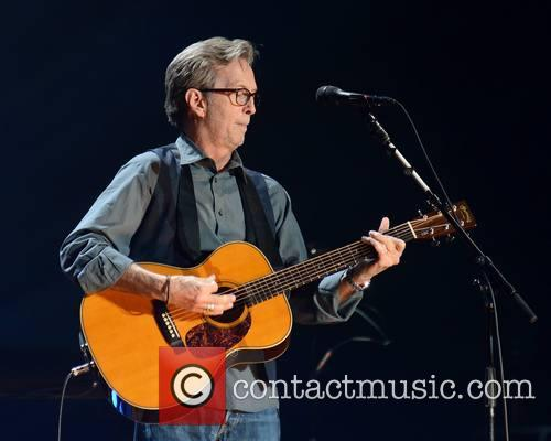 Eric Clapton performs at The O2