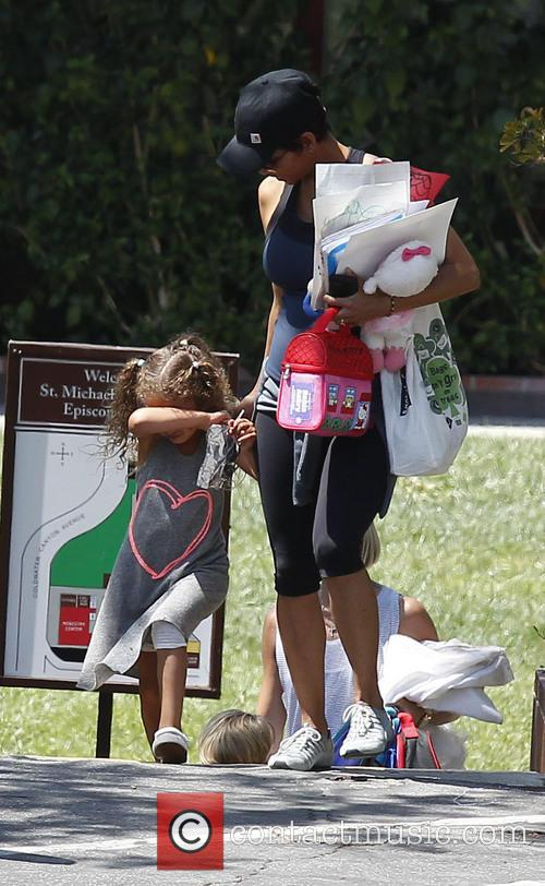 Halle Berry and Nahla Berry 3