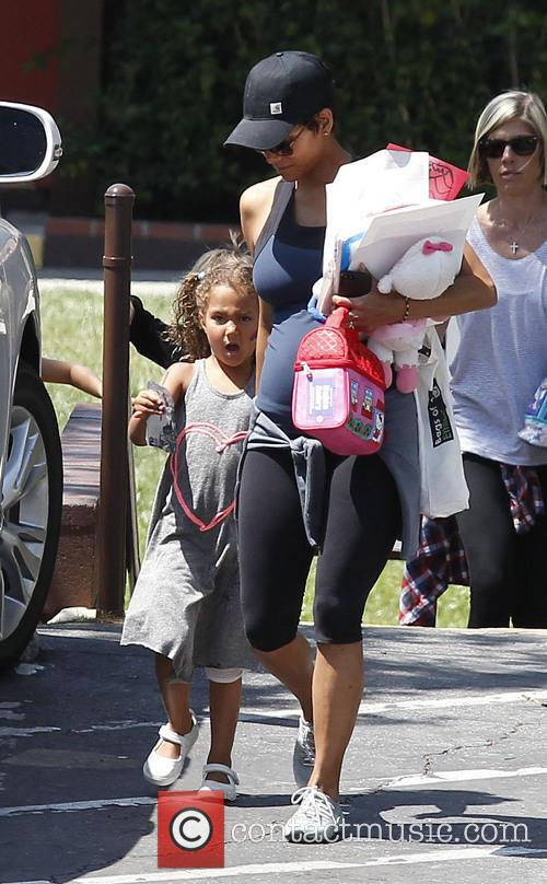 Halle Berry and Nahla Berry 11