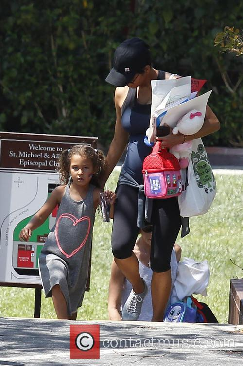 Halle Berry and Nahla Berry 15
