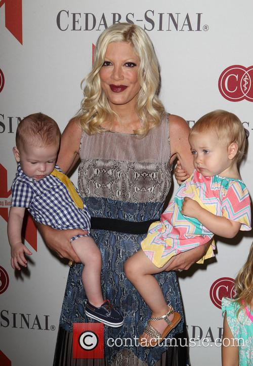 Tori Spelling, Mother's Day Luncheon