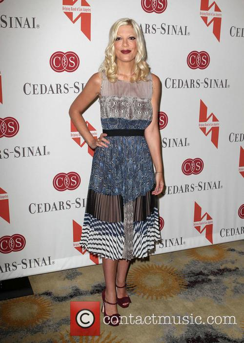 Tori Spelling, Mpther's Day Luncheon