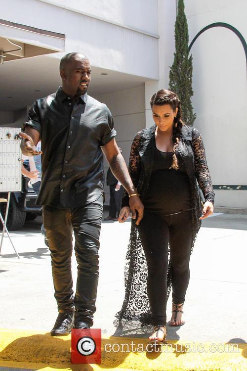 Kim and Kanye Signpost