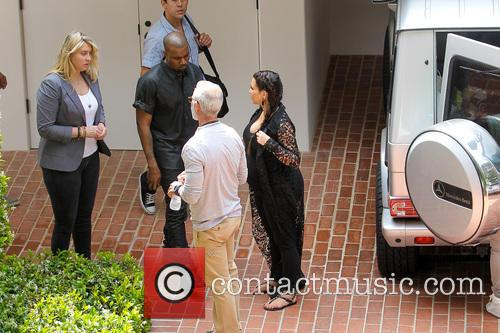 Kim Kardashian and Kanye West 12