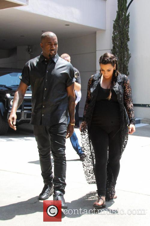 Kim Kardashian and Kanye West 13