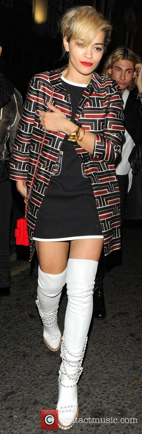 Rita Ora At The Dorchester