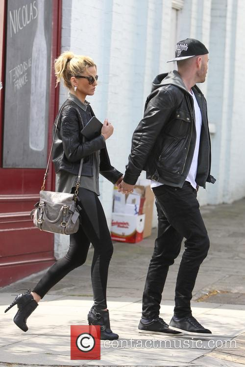 Sarah Harding and Mark Foster 5