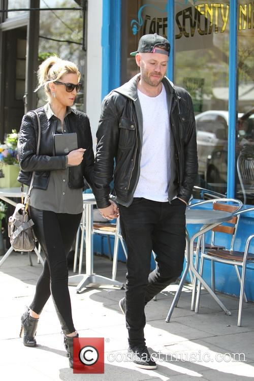Sarah Harding and Mark Foster 8