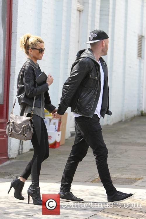 Sarah Harding and Mark Foster 10