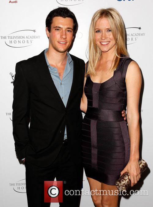 Drew Roy and Jessy Schram