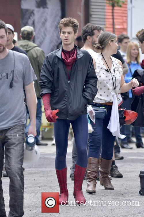 Spiderman Andrew Garfield
