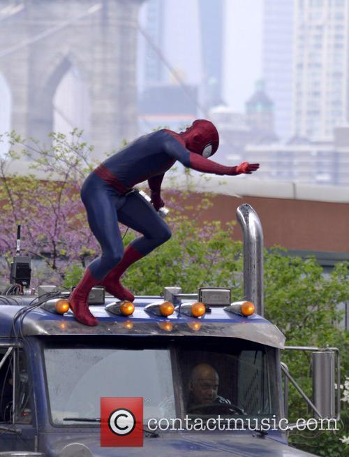 Andrew Garfield Spider-Man Paul Giamatti