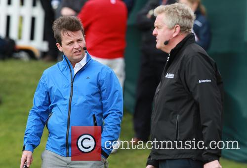 Declan Donnelly and Colin Montgomerie