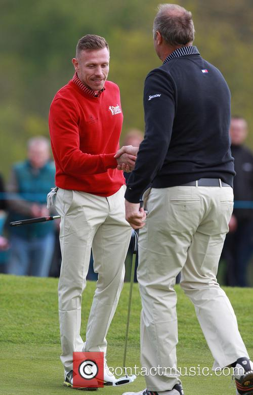 Craig Bellamy and Sir Steve Redgrave 7