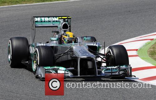 Lewis Hamilton, MONTMELO Circuit de Catalunya