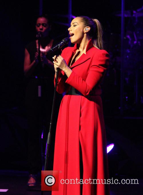 Leona Lewis performing live at the New Theatre...