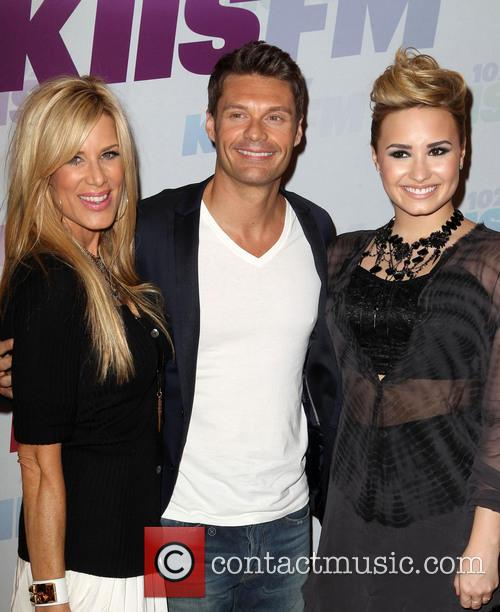 Demi Lovato, Ryan Seacrest and Ellen K 10