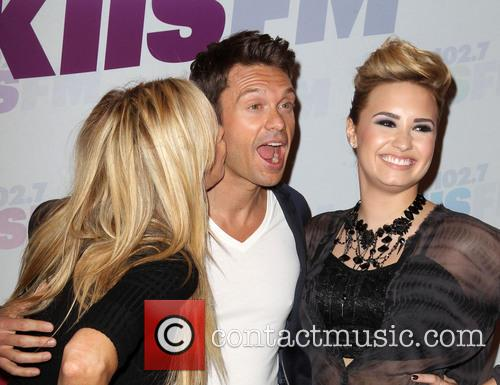 Demi Lovato, Ryan Seacrest and Ellen K 11