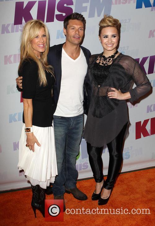 Demi Lovato, Ryan Seacrest and Ellen K 3