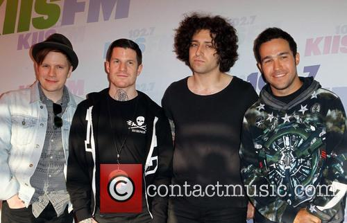 Patrick Stump, Andy Hurley, Joe Trohman, Pete Wentz and Fall Out Boy 2