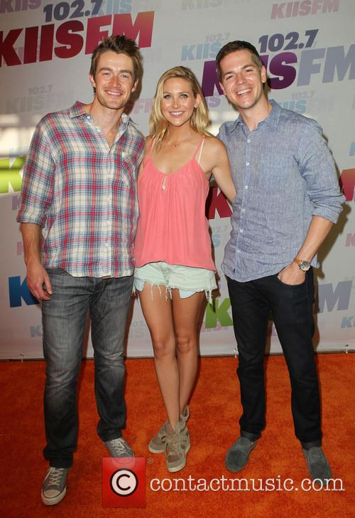 Robert Buckley, Stephanie Pratt and Jason Kennedy 1
