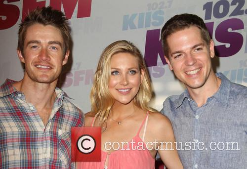 Robert Buckley, Stephanie Pratt and Jason Kennedy 2