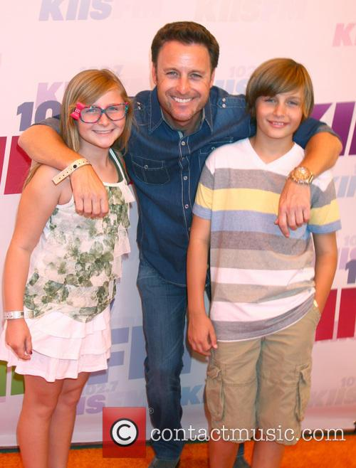 Chris Harrison and His Children 2