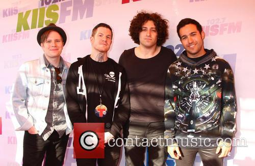 Patrick Stump, Andy Hurley, Joe Trohman and Pete Wentz Of Fall Out Boy 3