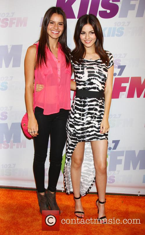 Madison Grace Reed and Victoria Justice 1