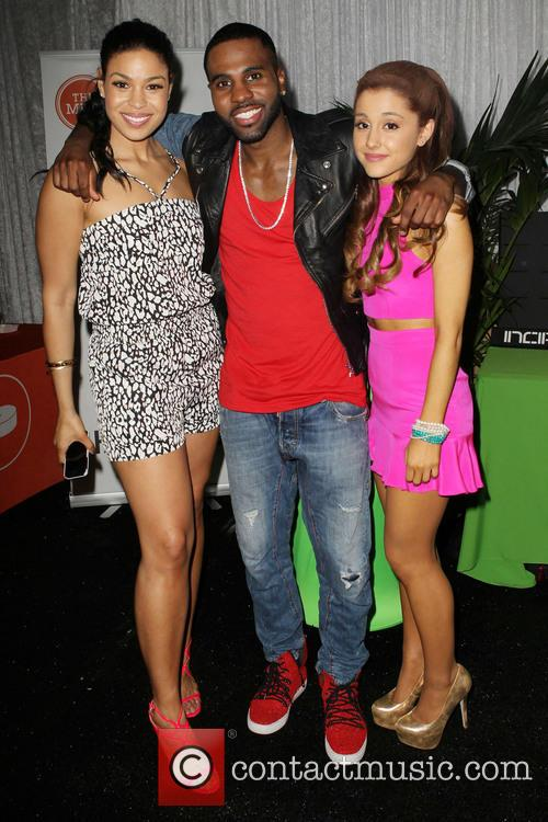 Jordin Sparks, Jason Darulo and Ariana Grande 11