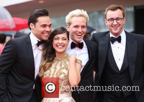 Andy Jordan, Louise Thompson, Jamie Laing and Francis Boulle 2