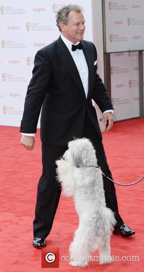 Hugh Bonneville and Pudsey 3