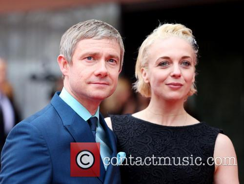 Martin Freeman, Amanda Abbington, Royal Festival Hall